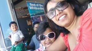 Shani  with Anisha