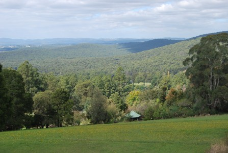 View from Mt Dandenong Victoria Australia