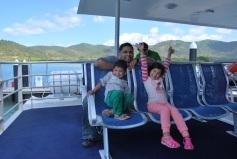 Ferry to Hamilton Island