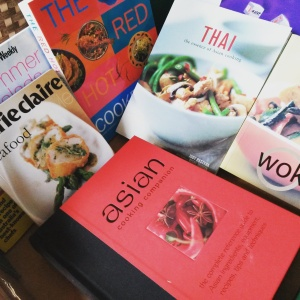 Asian Recipe books, Donna Hay Cooking Magazenes